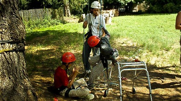 La pratique de la grimpe d'arbres pour les personnes handicapées